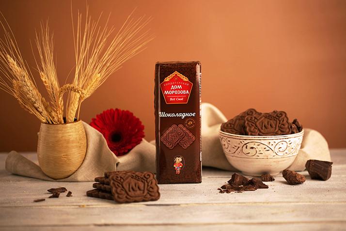 «Шоколадное» и «Молочно-шоколадное» печенье появилось в ассортименте компании