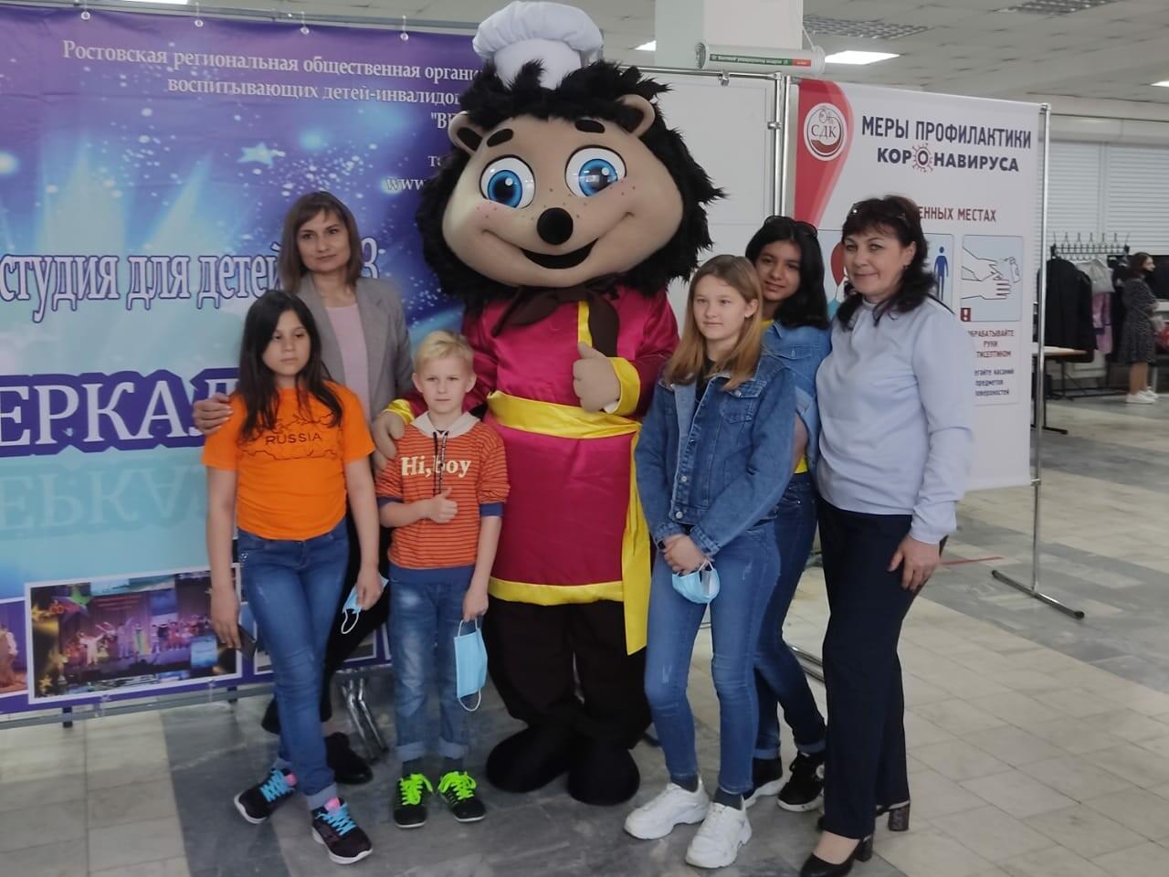 Компания приняла участие в Гала-концерте Шестого областного театрального фестиваля для детей с ОВЗ и детей-сирот «Ветер перемен»